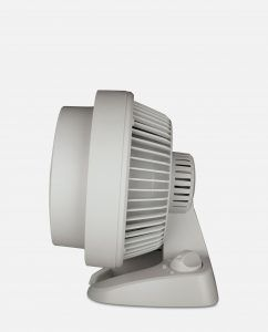 Vornado 530 White Small Air Circulator Side