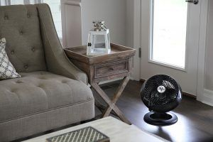 Vornado 660 Black Large Air Circulator Lifestyle