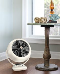Vornado VFAN Sr. Vintage Air Circulator Vintage White Lifestyle