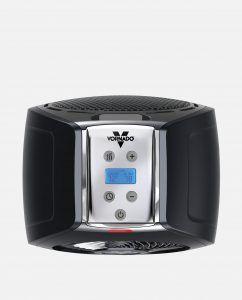 Vornado TVH500 Black Whole Room Metal Heater Controls