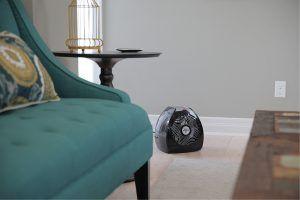 Vornado TVH500 Black Whole Room Metal Heater Lifestyle
