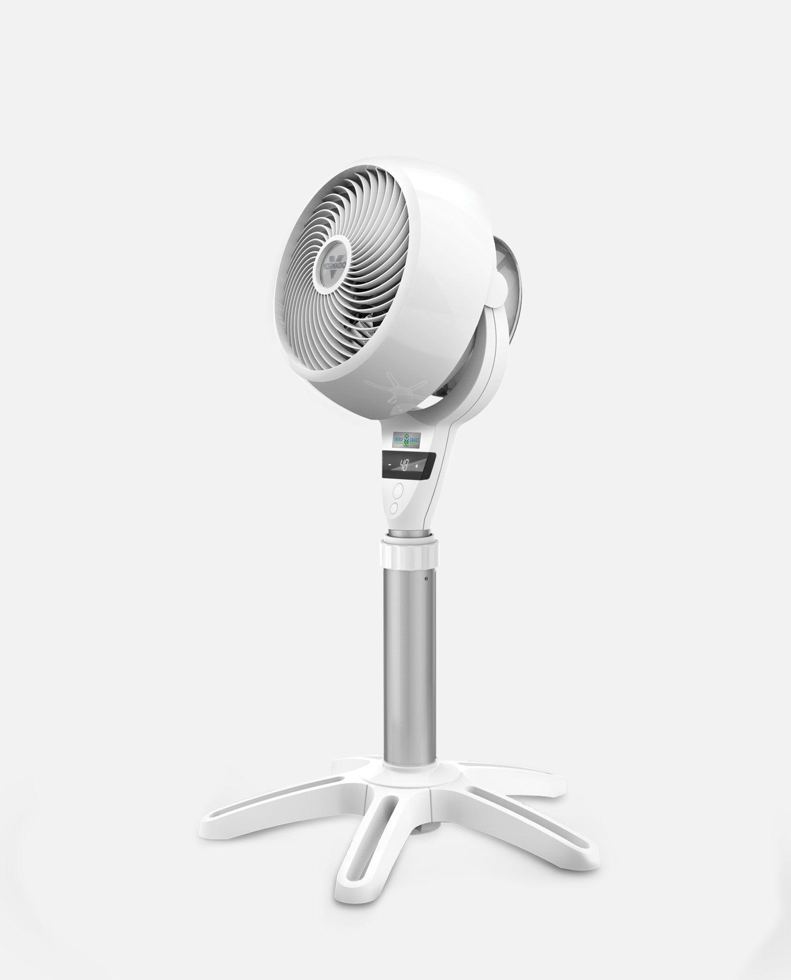 Circulator Fans With Heat : Dc energy smart medium pedestal air circulator vornado