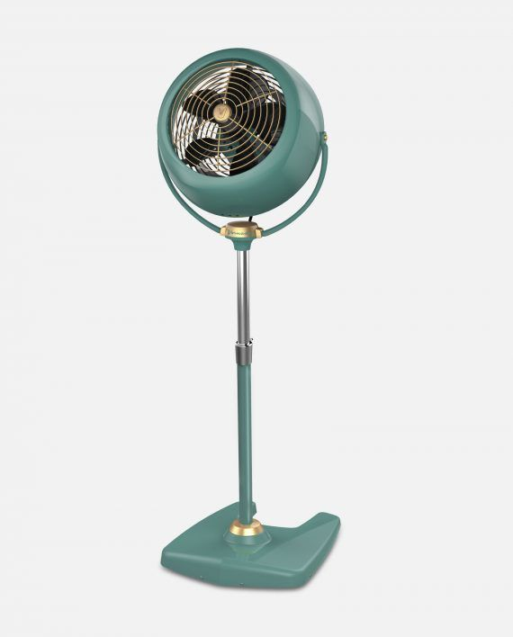 Vornado VFAN Sr. Pedestal Vintage Air Circulator Green