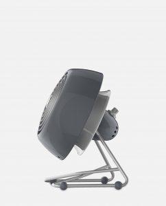 Vornado VFAN Mini Modern Vintage Air Circulator Storm Gray Side
