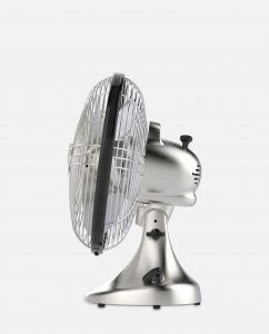 Vornado Silver Swan S Vintage Oscillating Fan Side