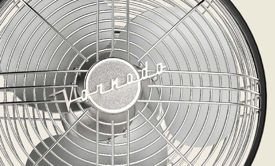 Silver Swan S Vintage Oscillating Fan Vornado