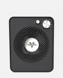 Vornado VMH300 Whole Room Metal Heater Storm Gray Front