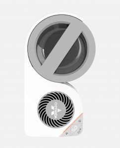 Vornado Element S Air + Steam Humidifier Top