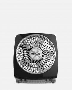 Vornado FIT Personal Air Circulator Front Black