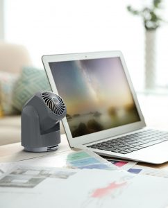 Vornado Flippi V6 Personal Air Circulator Lifestyle Storm Gray