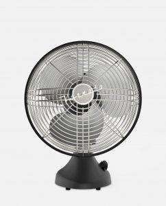 Vornado Silver Swan S Vintage Oscillating Fan Front Matte Black