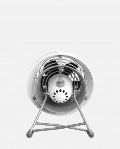 Vornado VFAN Mini Modern Vintage Air Circulator Back Ice White