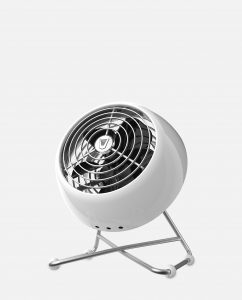 Vornado VFAN Mini Modern Vintage Air Circulator Ice White