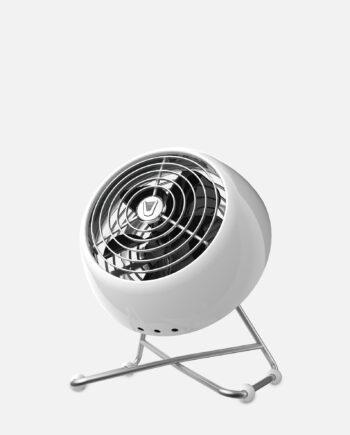 Vornado VFAN Mini Modern Vintage Air Circulator Ice White