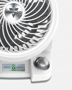 Vornado 133DC Energy Smart Compact Air Circulator Controls