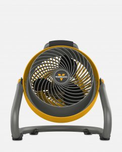 Vornado 293 Heavy Duty Large Air Circulator Yellow Front