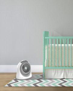 Vornadobaby Breesi Small Nursery Air Circulator Lifestyle