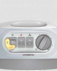 Vornadobaby Tempa Small Nursery Heater Controls