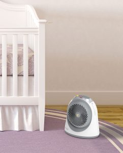 Vornadobaby Tempa Small Nursery Heater Lifestyle