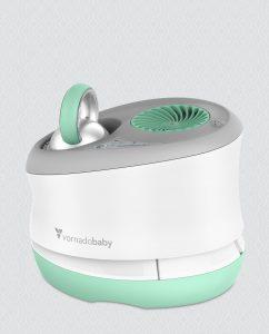 Vornadobaby Huey Nursery Evaporative Humidifier Back