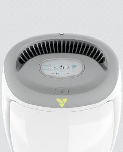 Vornadobaby Purio Nursery Air Purifier with True HEPA Filtration Controls