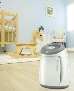 Vornadobaby Purio Nursery Air Purifier with True HEPA Filtration Lifestyle