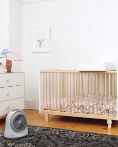 Vornadobaby Sensa Cribside Sensing Nursery Heater Lifestyle