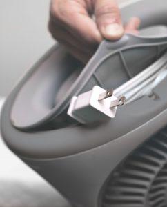 Vornadobaby Sensa Cribside Sensing Nursery Heater Cord Storage