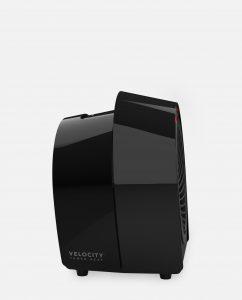 Vornado Velocity 1R Personal Heater Black Side