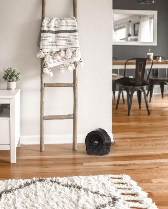 Vornado Velocity 3R Whole Room Heater Lifestyle Black