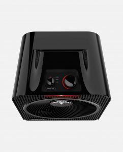 Vornado Velocity 3 Whole Room Heater Controls Black