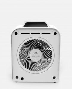 Vornado Velocity 3 Whole Room Heater White Back White