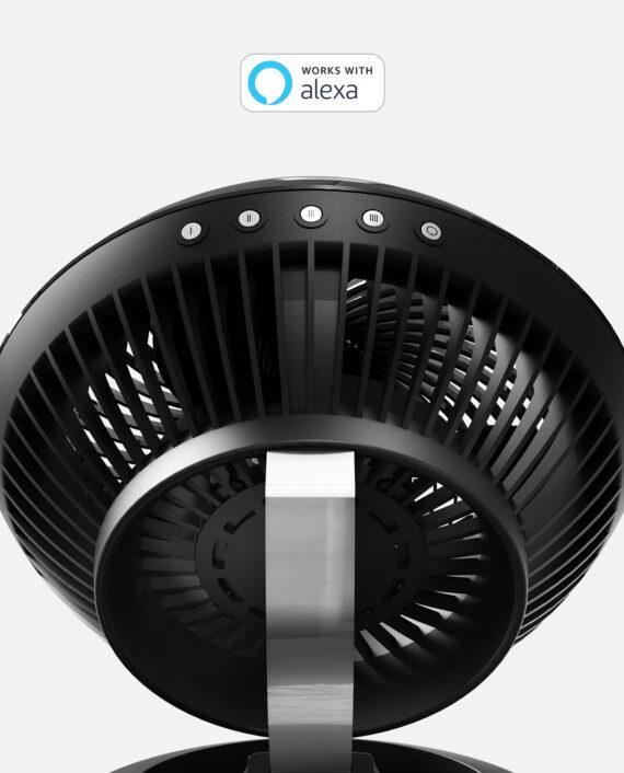 Vornado 660 AE Large Air Circulator with Alexa Black Controls